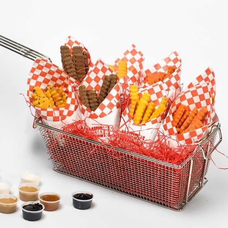 Deep Fryer Cookie Gift Basket