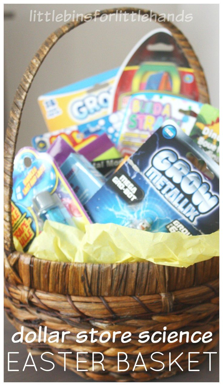 Basket gifts make a simple science themed easter basket gift for basket gifts make a simple science themed easter negle Gallery
