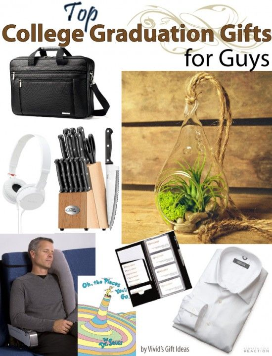 College graduation gift ideas for guys