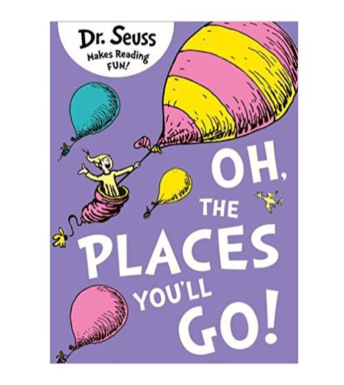 Dr Seuss's book for graduation gift
