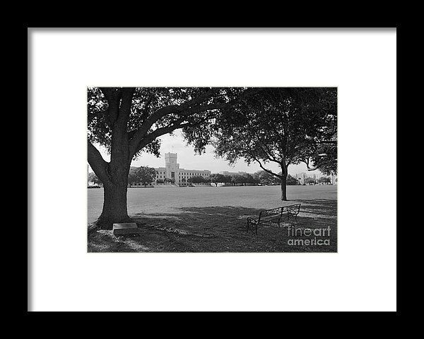 GRAD GIFT IDEA! Framed Print featuring the photograph The Citadel Summerall Fiel...