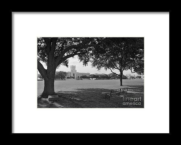 GRAD GIFT IDEA! Framed Print featuring the photograph The Citadel Summerall Fiel...
