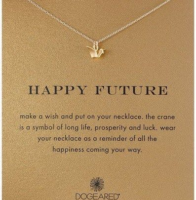 Best Graduation Gifts  Happy Future Paper Crane Necklace u2013 College graduation gifts for girls.  sc 1 st  GiftsMaps.com & Best Graduation Gifts : Happy Future Paper Crane Necklace - College ...