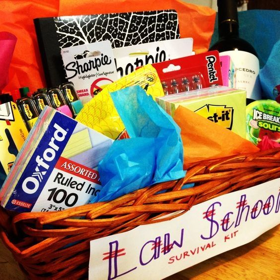 Law School Survival Kit   The Perfect Graduation Gift to Make Your BFF, Based on...