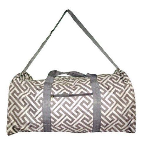 Stylish greek key duffle bag. Graduation Gift Ideas