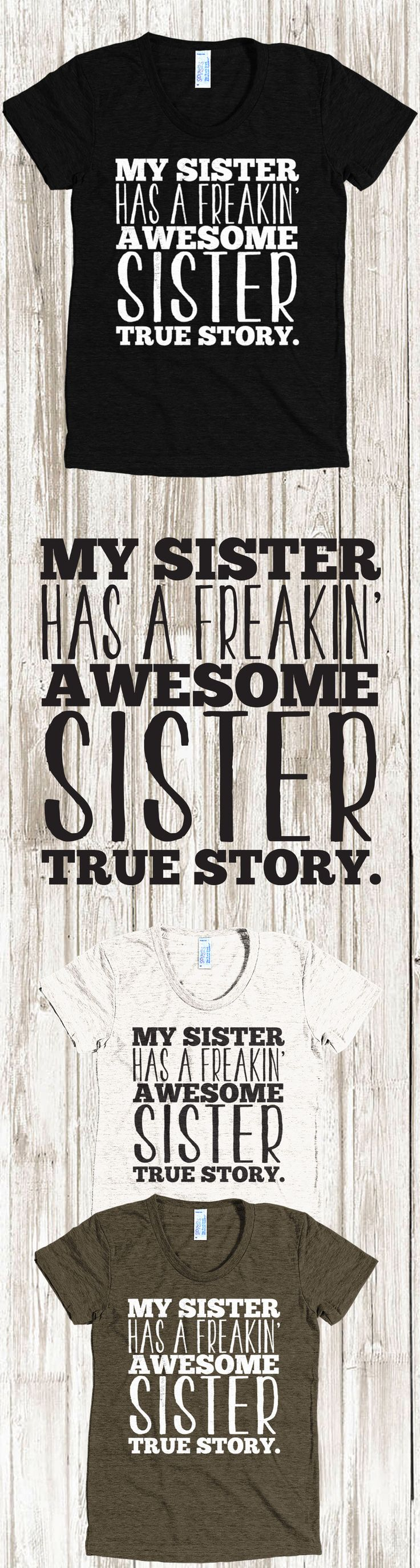 Did you know National Sister's Day is Aug 7th?Check out this awesome My Sist...