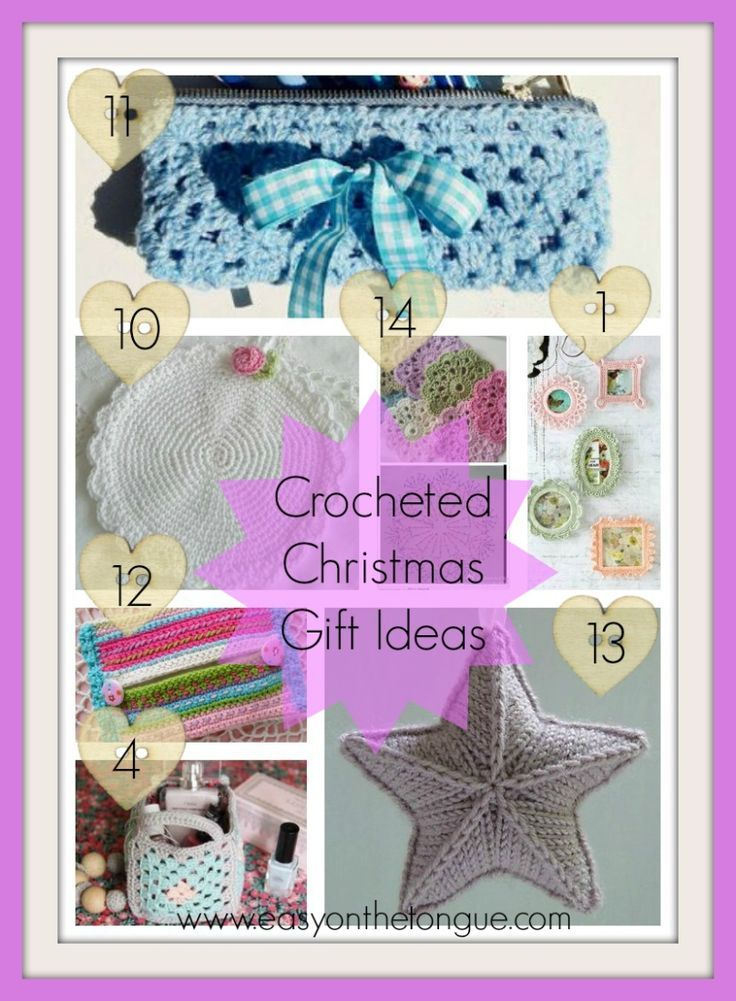 Christmas Gift Ideas Part 4. Lovely crocheted gifts for ladies.