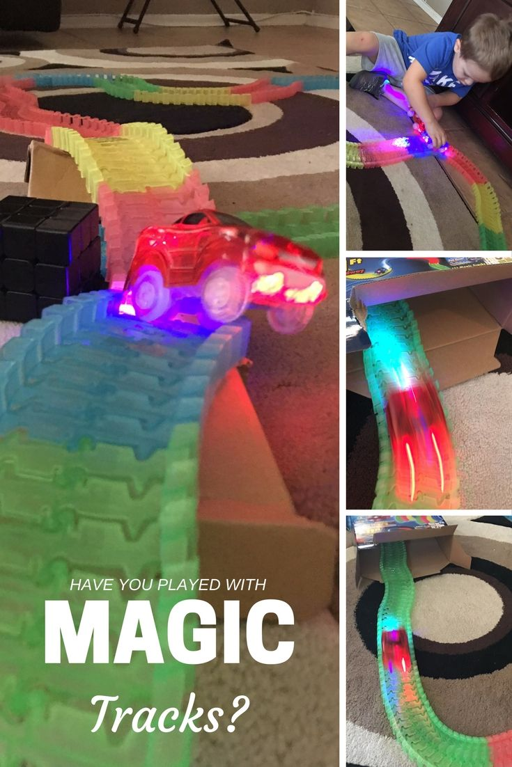 Create Your Own Obstacle Course Car Track with Magic Tracks!