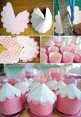 Cup Cake Box Tutorial....lots of uses other than for cup cakes!