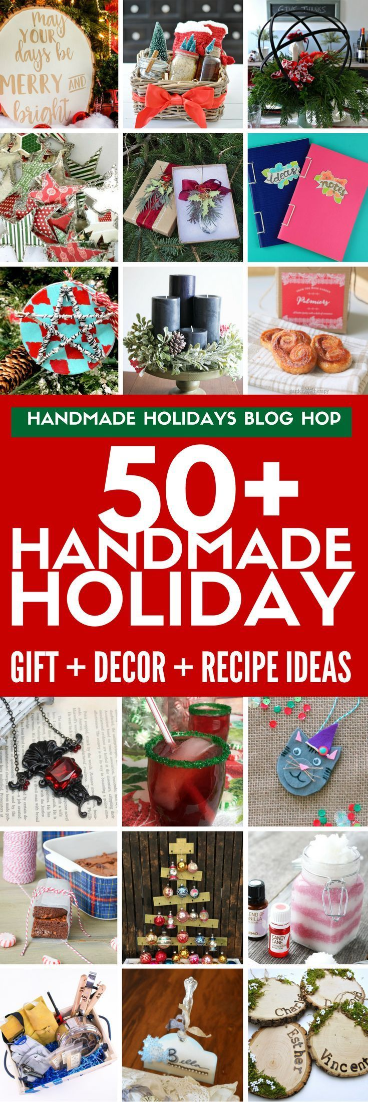 Find over 50 DIY gift ideas, holiday decor projects , holiday recipes, and food ...