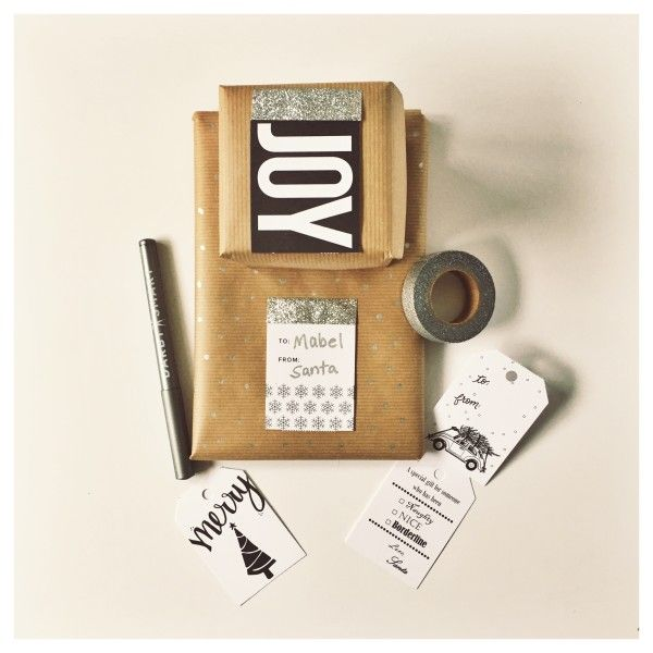 Gap and Darby Smart Gift Tag - Nearly Crafty