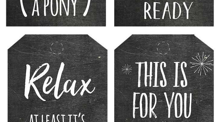 gift wrapping ideas honest christmas chalkboard gift tags are what