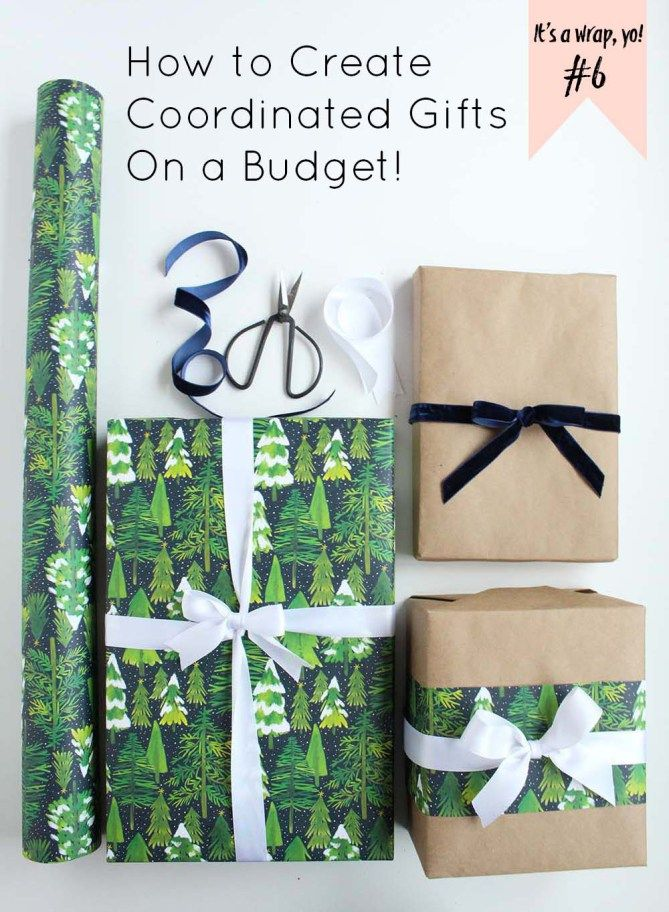 It's a Wrap, Yo #6 (Wrapping Tips): How to Create Coordinated Gifts on a Budge...
