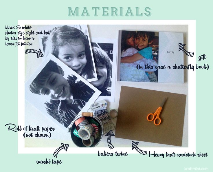 Pin me nowGift Wrapping with Big Photos