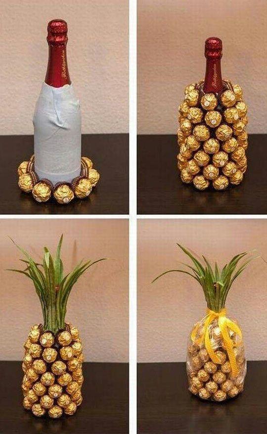 Wine And Chocolate Pineapple