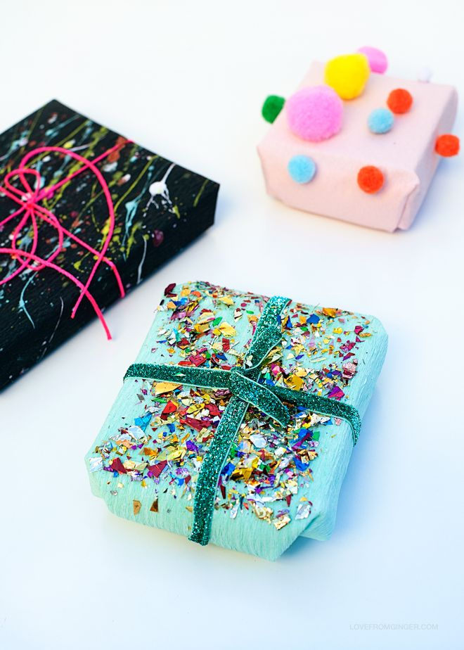 3 Easy DIY Gift Wrapping Ideas via