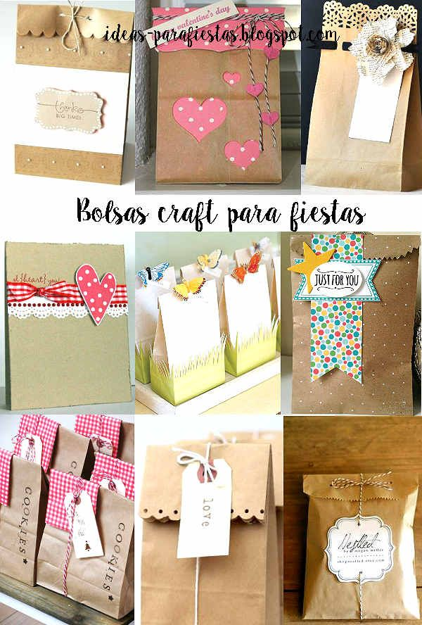 Decorated bags, cute!