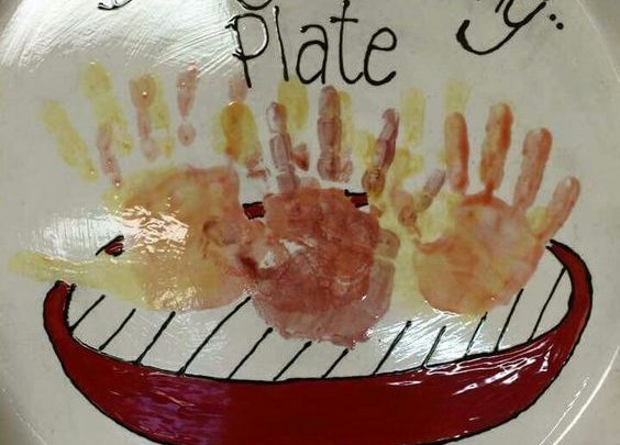 Gifts For Him Grilling Plate Diy Fathers Day Crafts For Kids