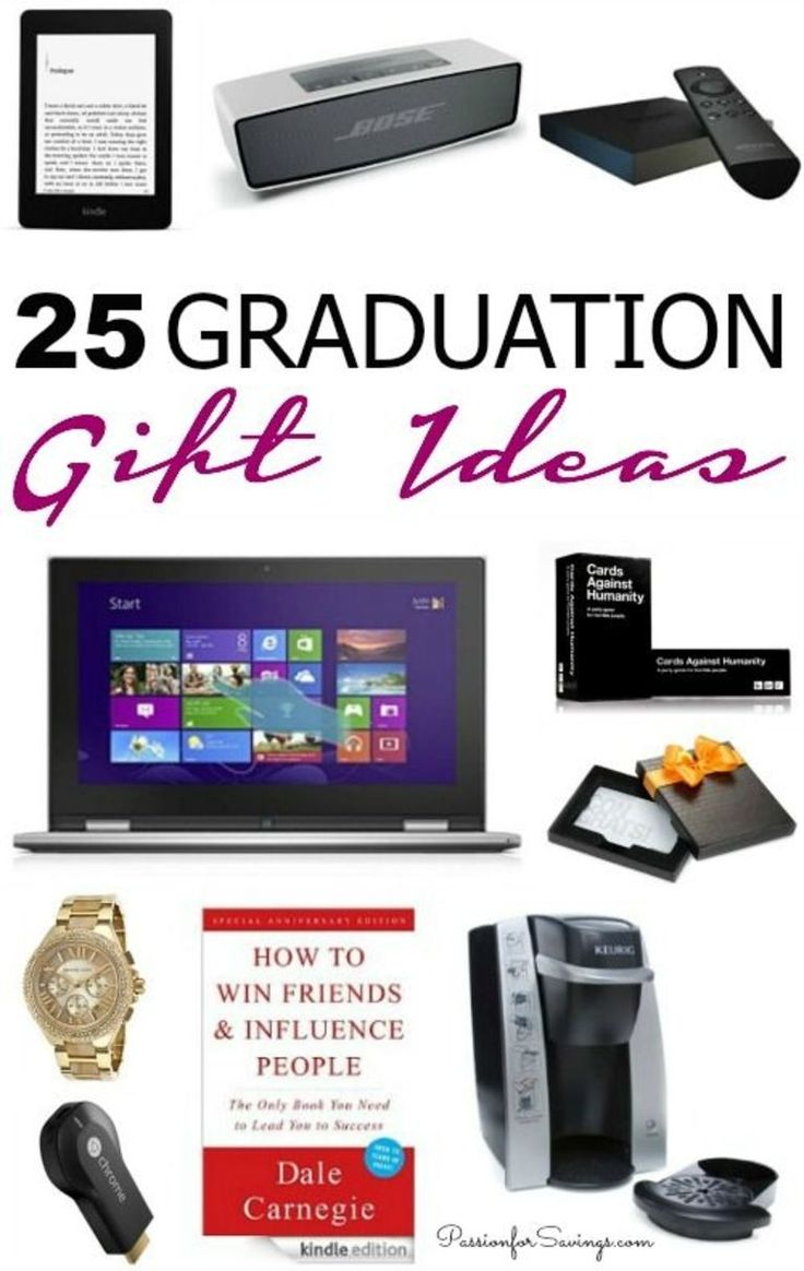 25 Graduation Gift Ideas! High School and College Graduation Gifts for everyone ...