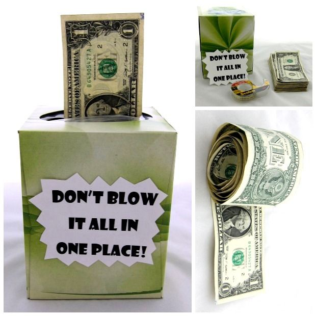 Cash is always a thoughtful gift, but these DIY ideas make the gesture extra spe...