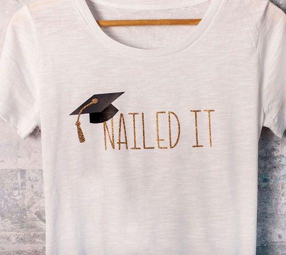 Celebrate your newly grad with these awesome shirts! Available as a t-shirt or a...