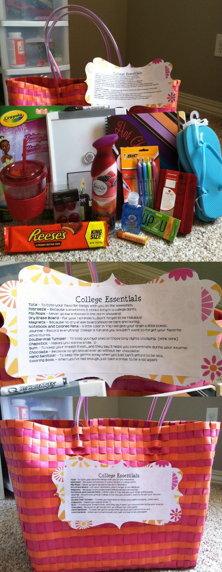 College Essentials...High School Grad Gift might have to keep this in mind come ...