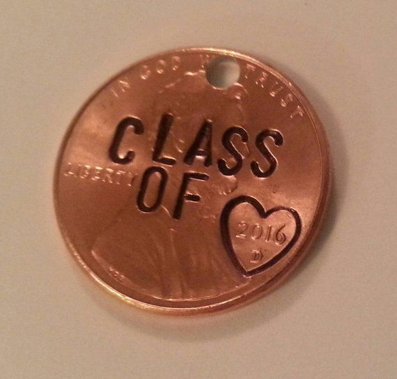 Graduation Gifts : Custom Engraved Class of 2016 Penny ...