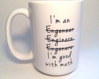 Graduation Gifts Custom Graduation Gift Engineer Mug Coffee