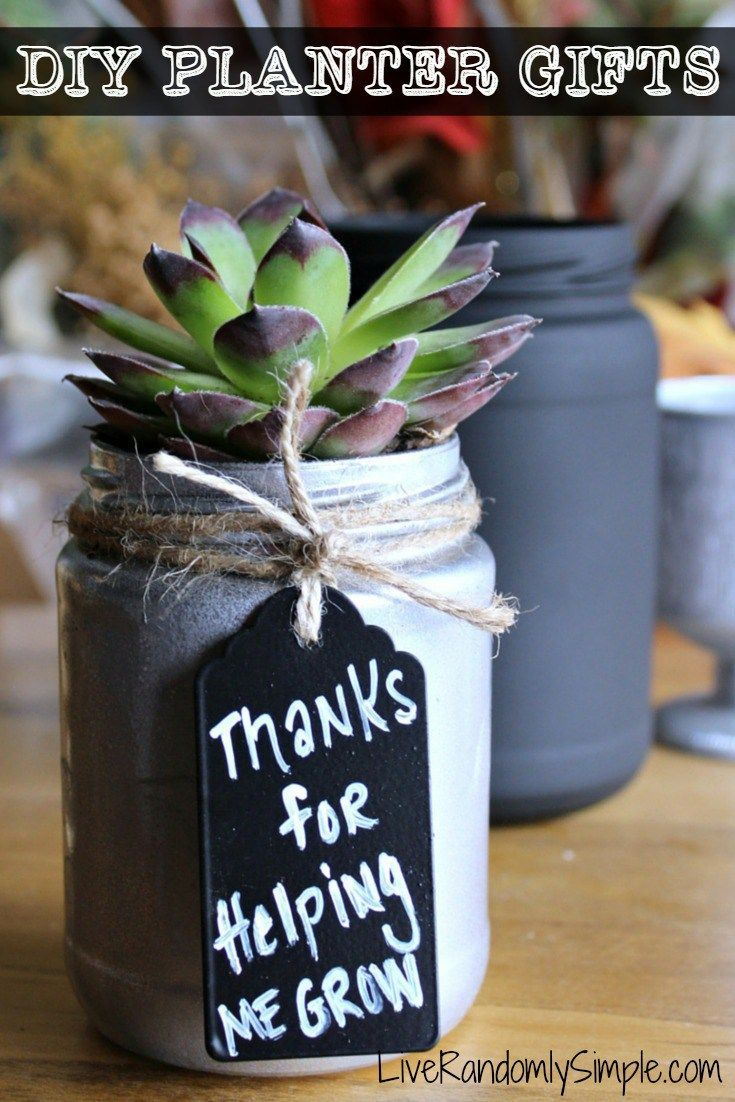 Graduation Gifts Diy Succulent Mason Jar Gifts Live Randomly Simple Giftsmaps Com Leading Gifts Ideas Unique Gifts Inspiration Magazine