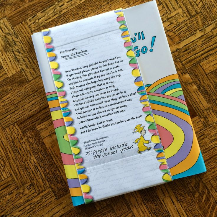 The Ultimate Graduation Gift!  Oh, The Places You'll Go! with a personal tou...