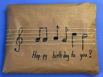 Musical Wrapping --Geburtstagsgeschenke verpacken                              ...
