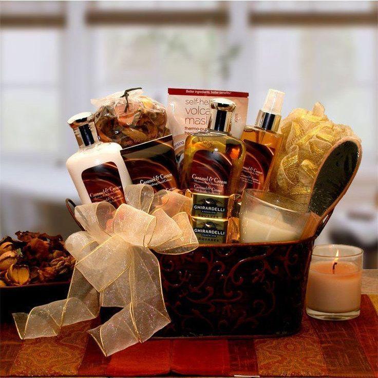 Caramel & Crème Bliss Spa Gift Basket