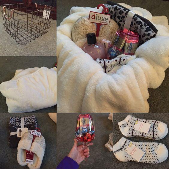 Christmas Gift For Mom.Basket Gifts Cozy Gift Basket 20 Easy To Make Christmas