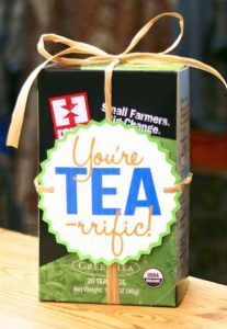 DIY Gift for the Office - You're Tea-rrific DIY Gift - DIY Gift Ideas for Your B...