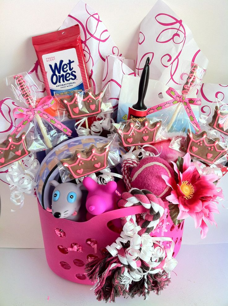 Dog Gift Baskets For All You This Cute Basket Is