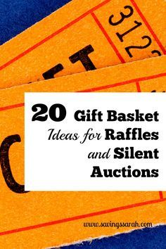 Helping with a school, church, or community fundraiser? Check out these 20 Easy ...