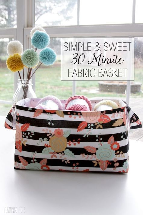 I just love quick and simple sewing projects that are useful, too! This quick an...