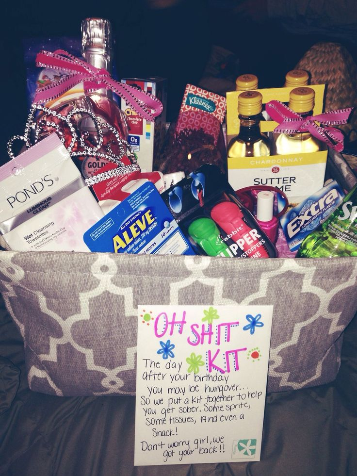 Basket Gifts Oh Shit Kit Cute Idea Only 2 More Years Till K Can