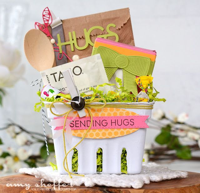 Sending Hugs Care Package by Amy Sheffer for Papertrey Ink (December 2016)