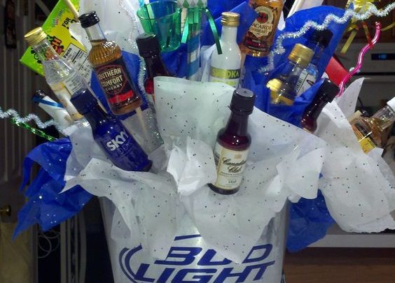 DIY Fathers Day Gift Basket