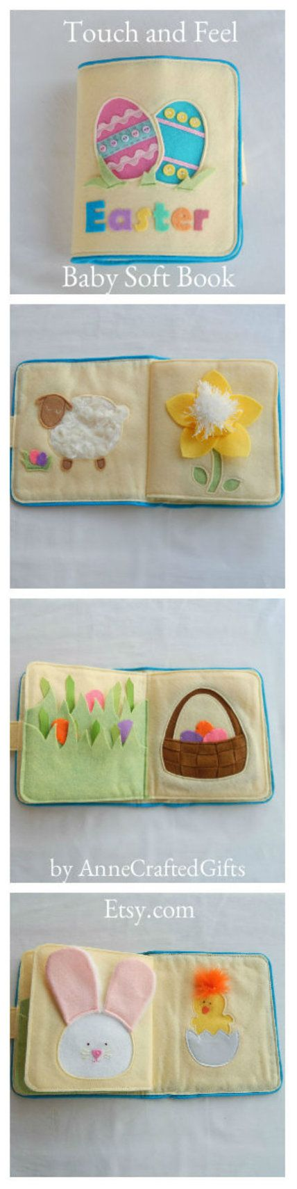 This unique quiet book is a cute gift idea for your little one's Easter basket. ...