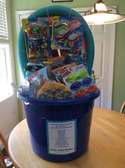 Unique Silent Auction Basket Ideas