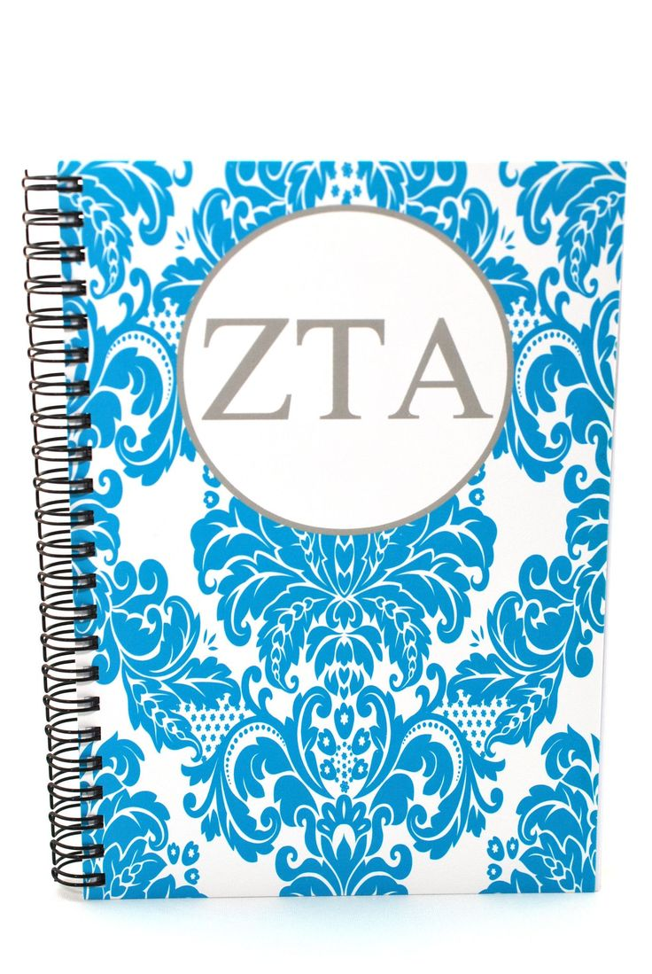 Zeta Tau Alpha Spiral Notebook - 5.5