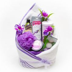 reating a spa gift basket is fun and easy. Spa gift baskets make an exquisite gi...