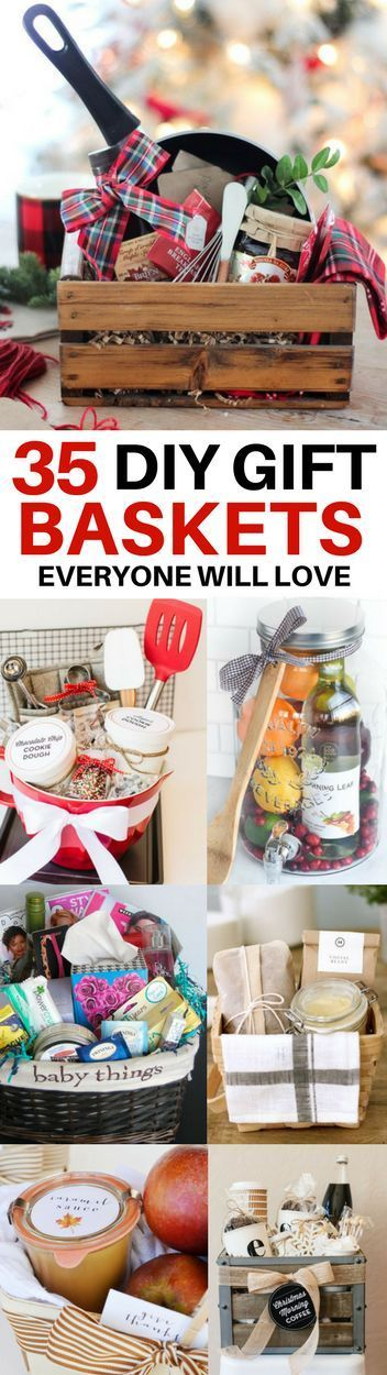 The BEST diy gift basket ideas for every occasion! Ideas for get well baskets, h...