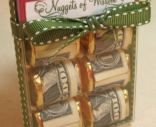 gift wrapping ideas christmas gift idea tutorial on creative ways to give money as a gift
