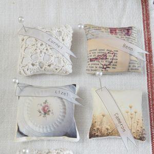 DIY::Sweet-smelling Vintage Lavender sachets