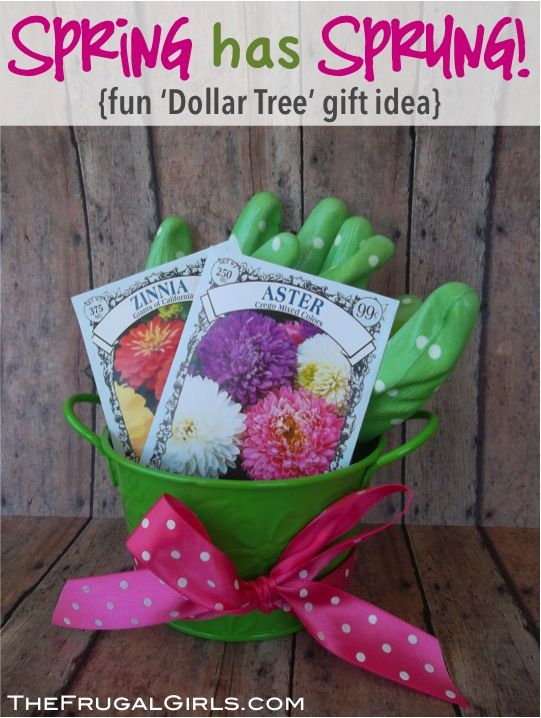 Gift Wrapping Ideas: Gardening Basket Gift Ideas - GiftsMaps