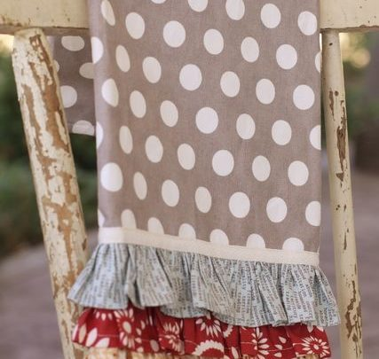 Gift Wrapping Ideas: Really cute kitchen towel tutorial ... on kitchen towels with words, bathrobe patterns, kitchen curtain patterns, kitchen towels with button, kitchen hand towels that hang, embroidered towels patterns, kitchen towels with birds, kitchen table patterns, kitchen window patterns, kitchen accessories patterns, kitchen towels for oven, mirror patterns,