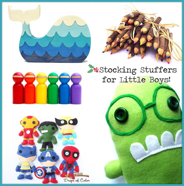 Stocking Stuffer Ideas for Little Boys…with HomeMade Style